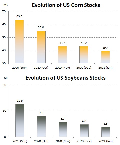 ODA market alert: USDA report considered very bullish by the market!
