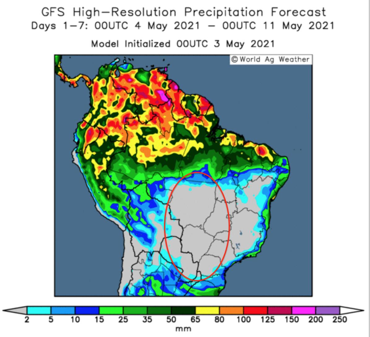 ODA Market Alert: Brazilian 🇧🇷 corn crop in deep trouble!
